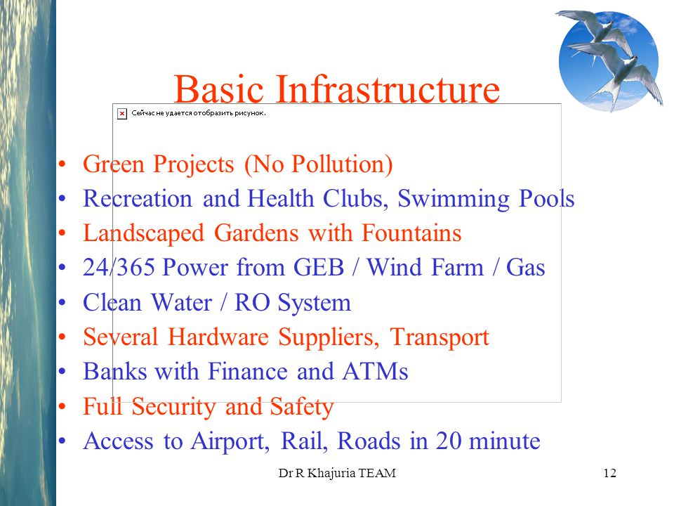 Basic Infrastructure Green Projects (No Pollution)