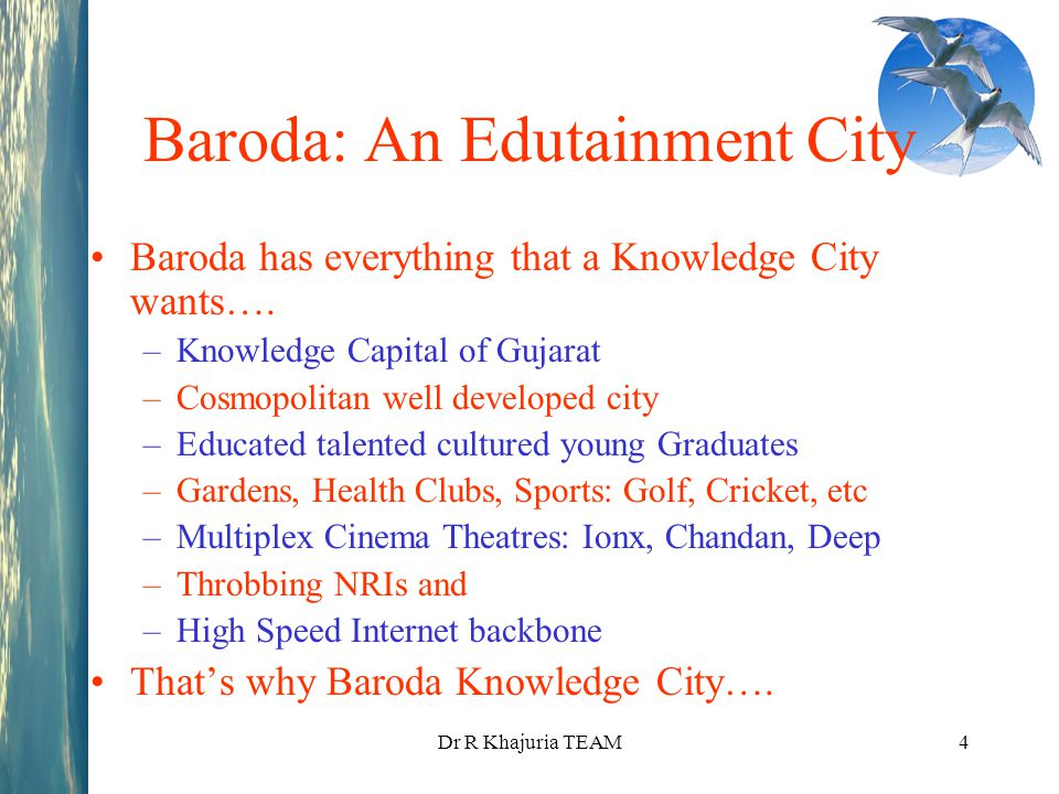 Baroda: An Edutainment City