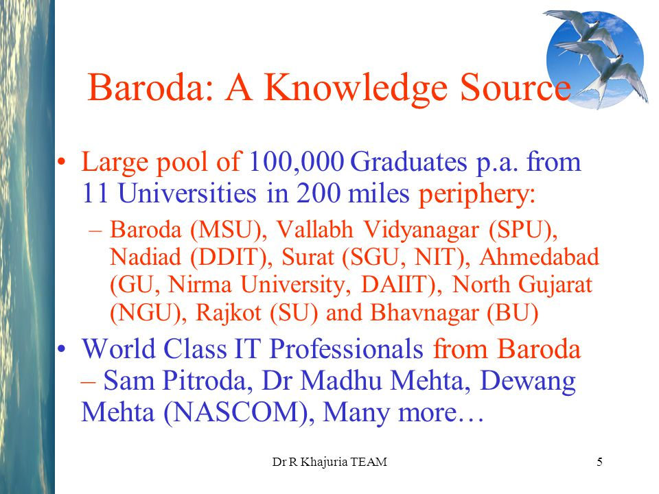 Baroda: A Knowledge Source