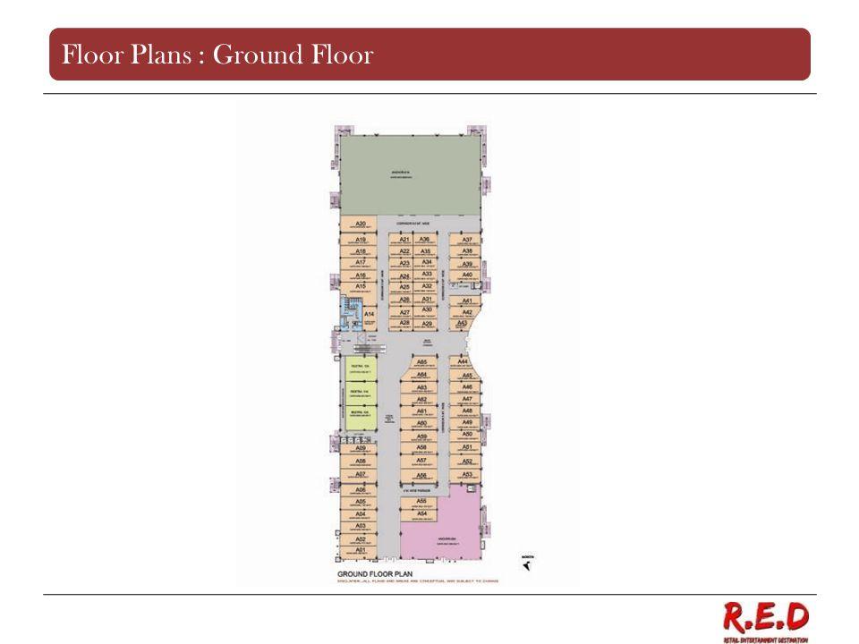Floor Plans : Ground Floor