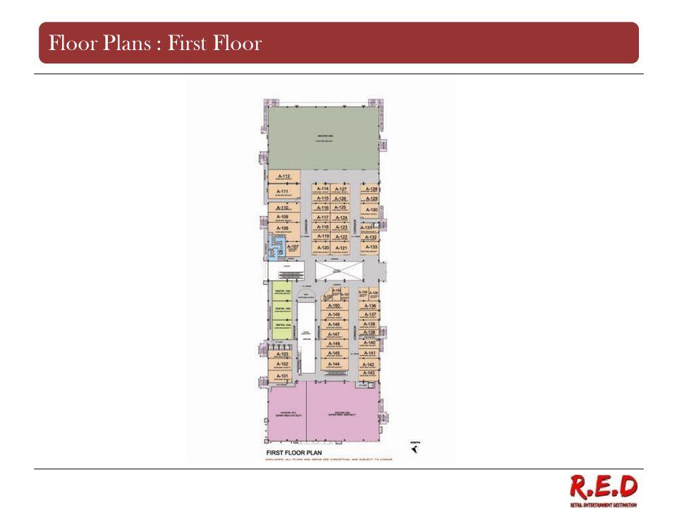 Floor Plans : First Floor