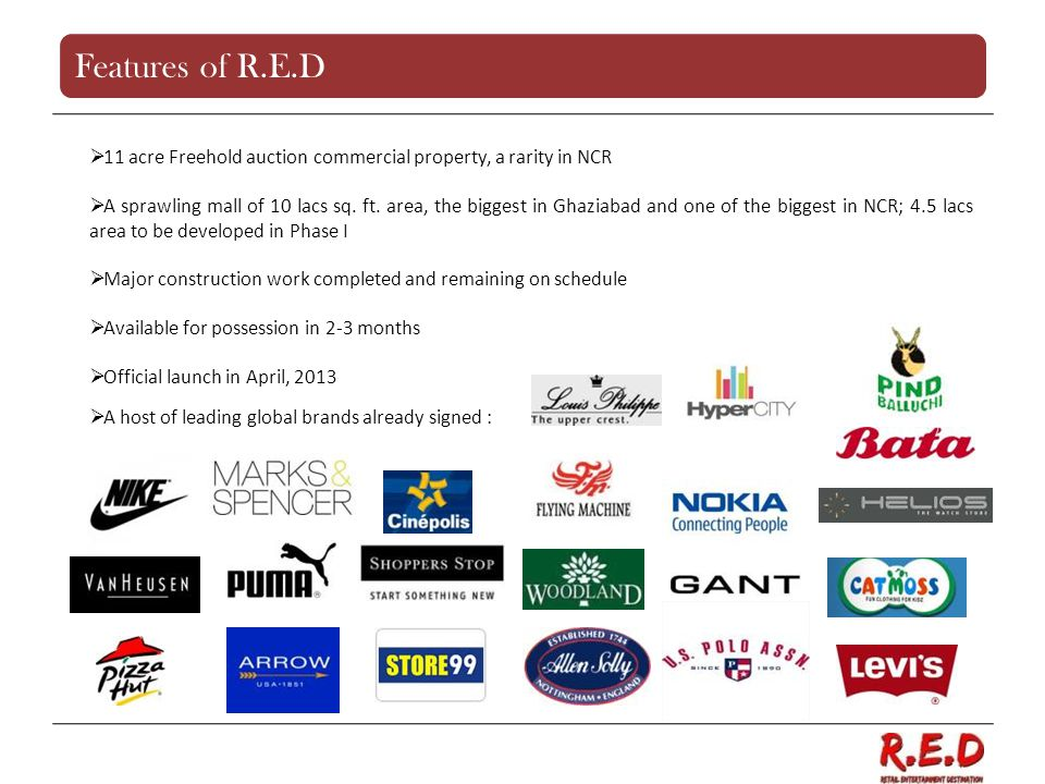 Features of R.E.D 11 acre Freehold auction commercial property, a rarity in NCR.