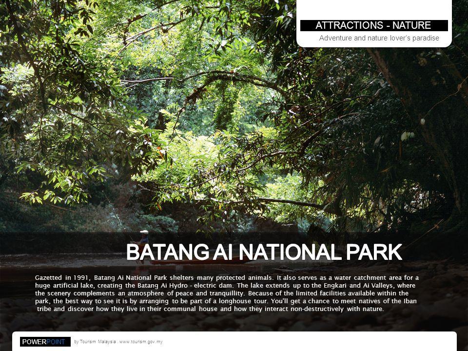 BATANG AI NATIONAL PARK