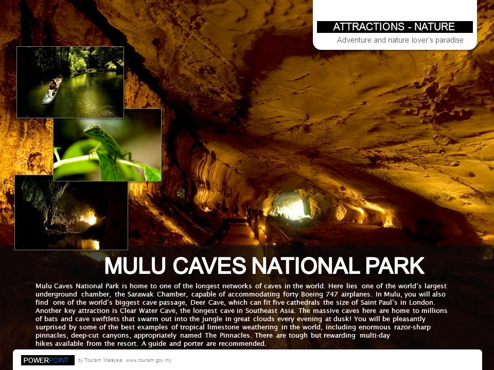 MULU CAVES NATIONAL PARK
