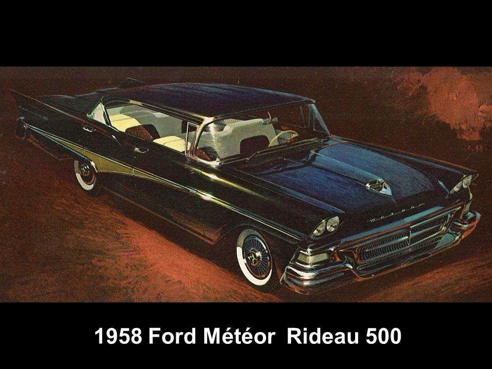 1958 Ford Météor Rideau 500