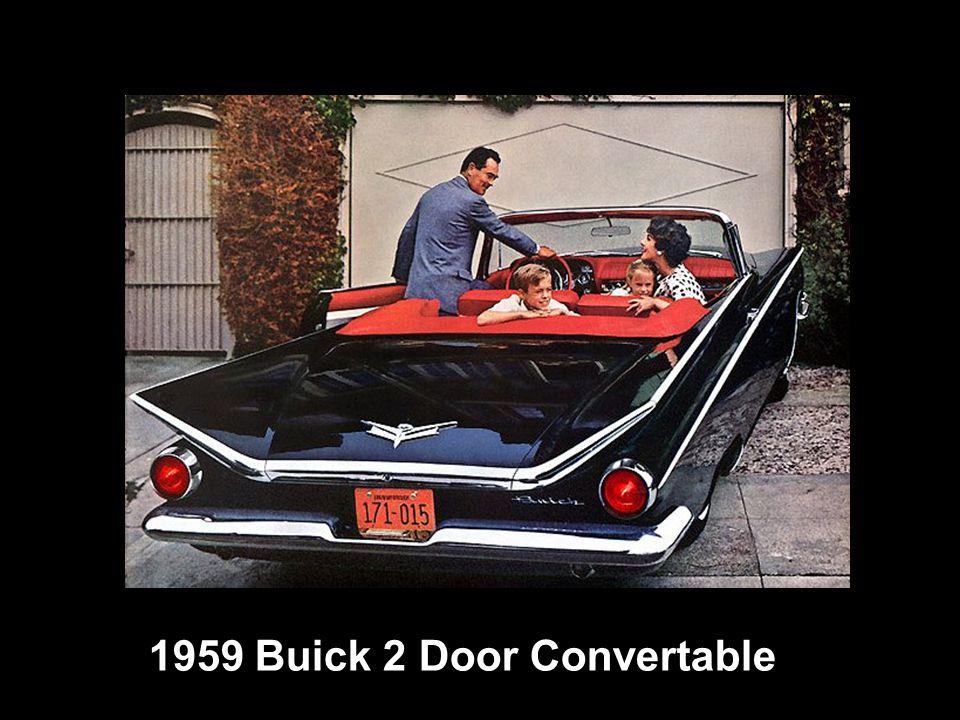 1959 Buick 2 Door Convertable
