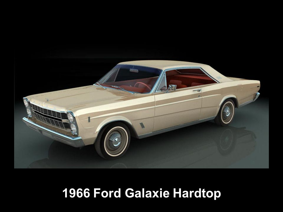 1966 Ford Galaxie Hardtop