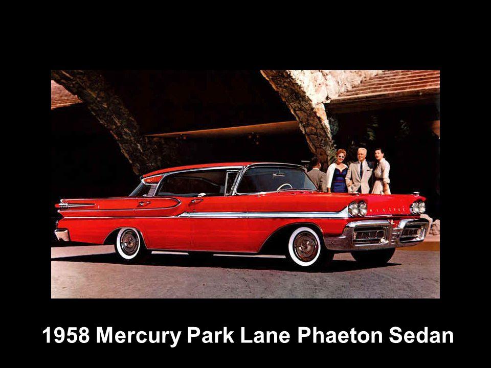 1958 Mercury Park Lane Phaeton Sedan