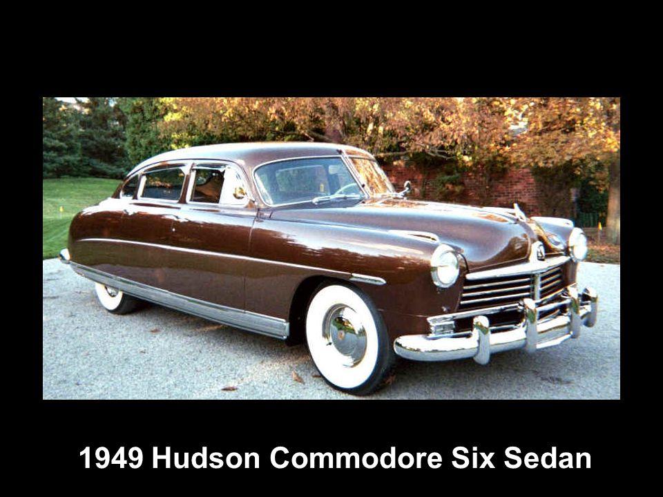 1949 Hudson Commodore Six Sedan