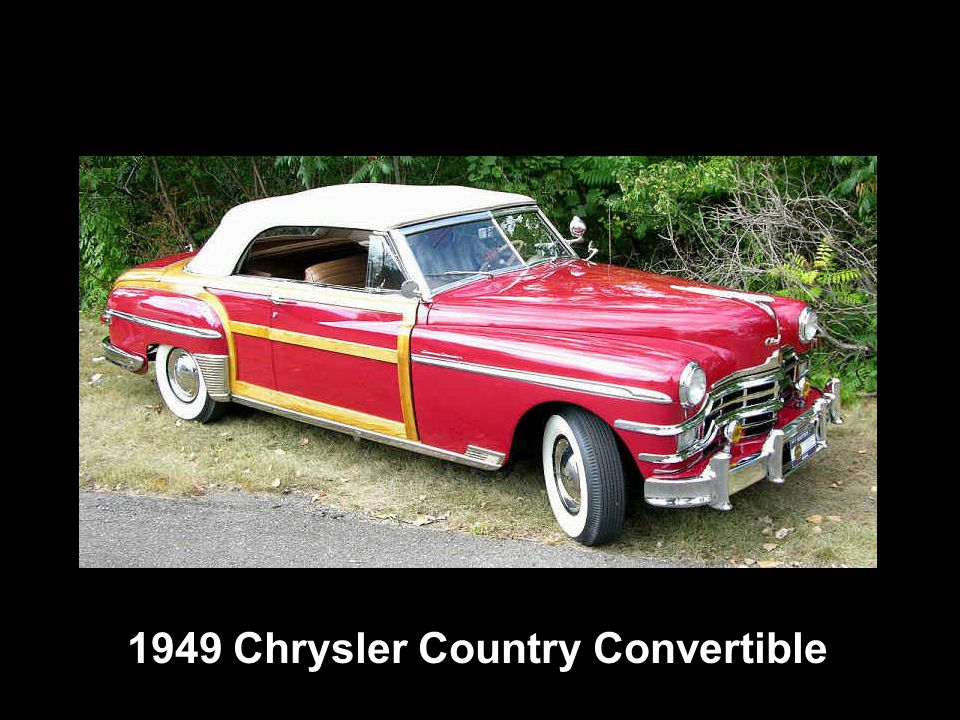1949 Chrysler Country Convertible