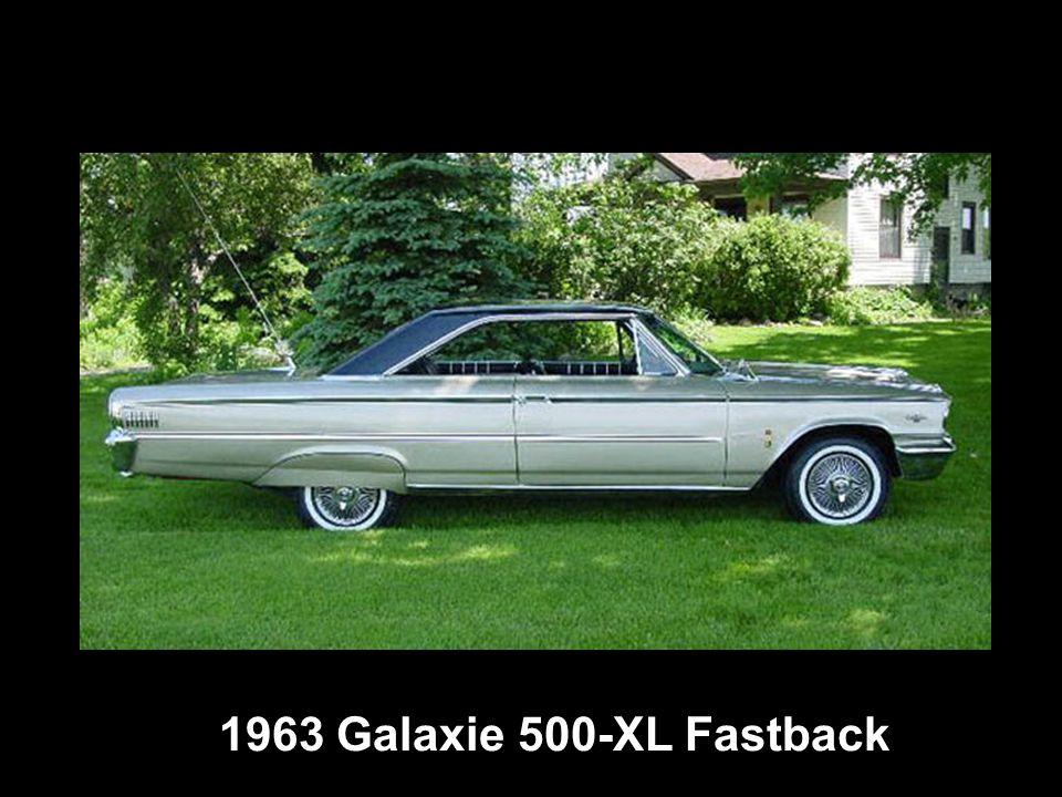 1963 Galaxie 500-XL Fastback
