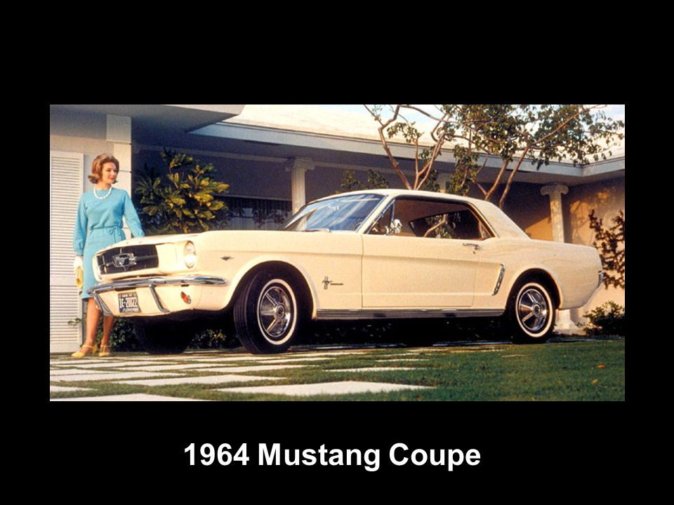 1964 Mustang Coupe