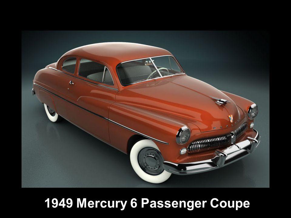 1949 Mercury 6 Passenger Coupe