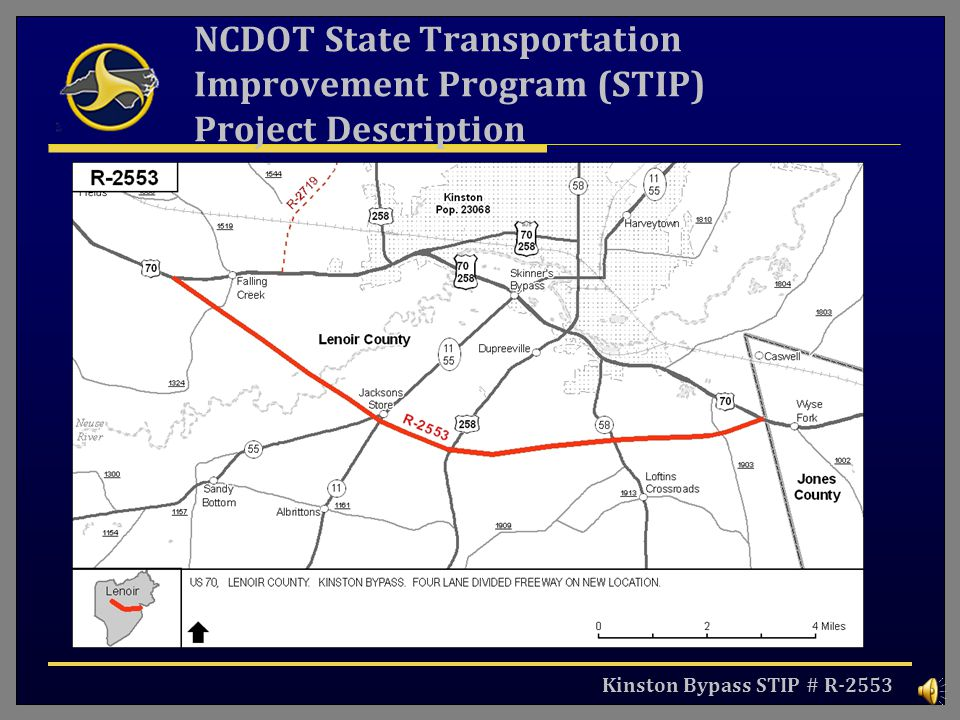 NCDOT State Transportation Improvement Program (STIP) Project Description
