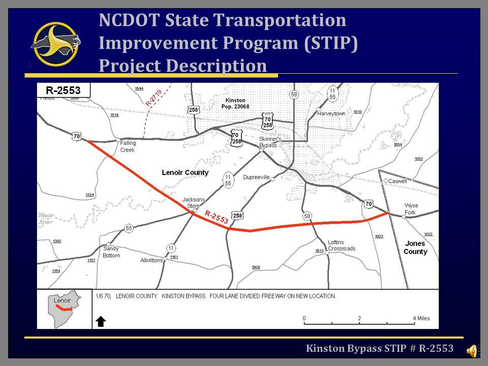 NCDOT State Transportation Improvement Program (STIP) Project Description