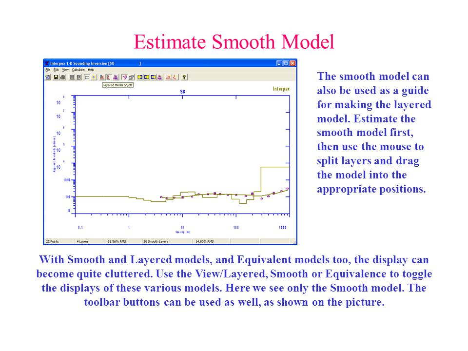 Estimate Smooth Model