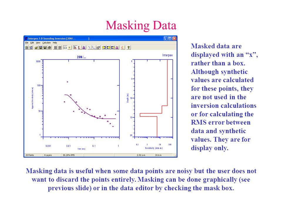Masking Data