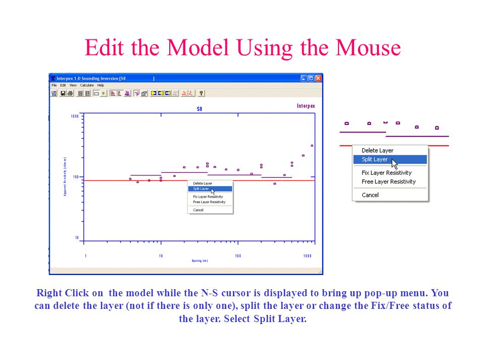 Edit the Model Using the Mouse
