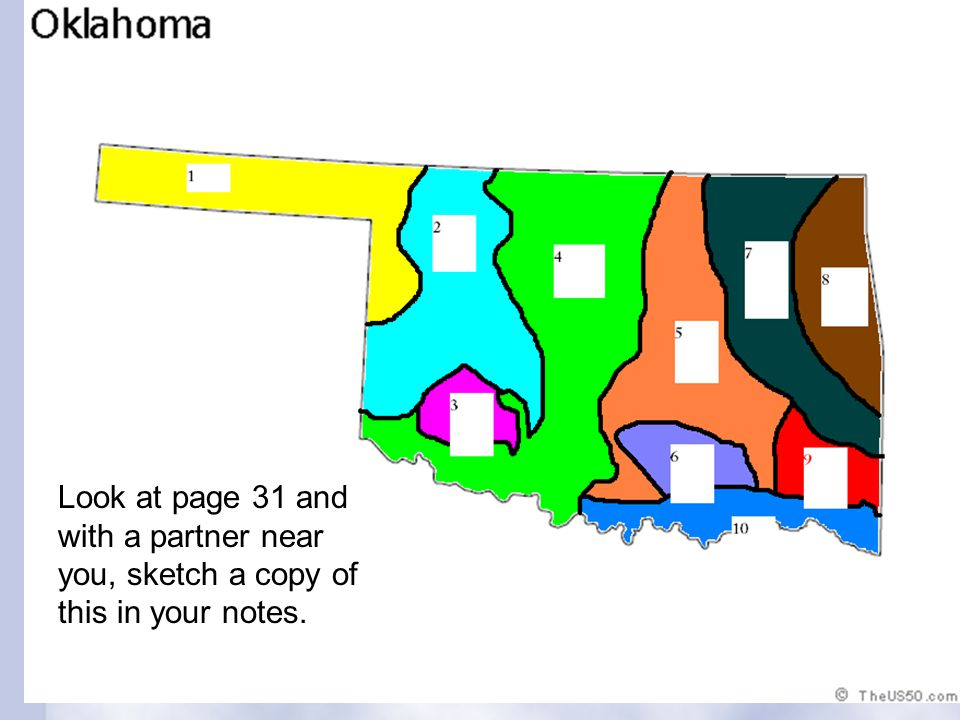Section 3: Oklahoma's Natural Resources