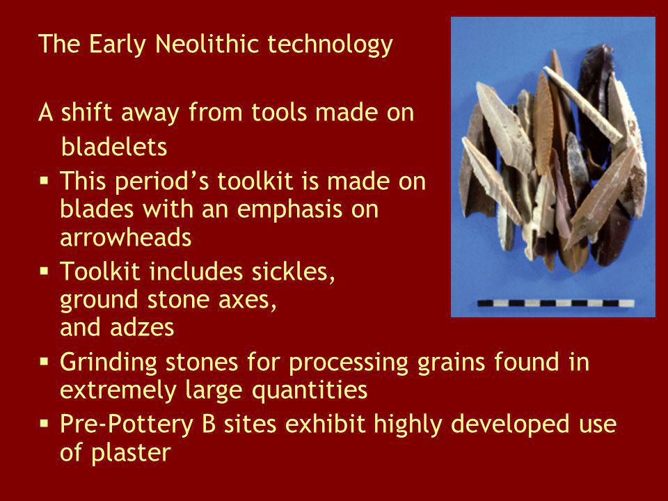 The Early Neolithic technology