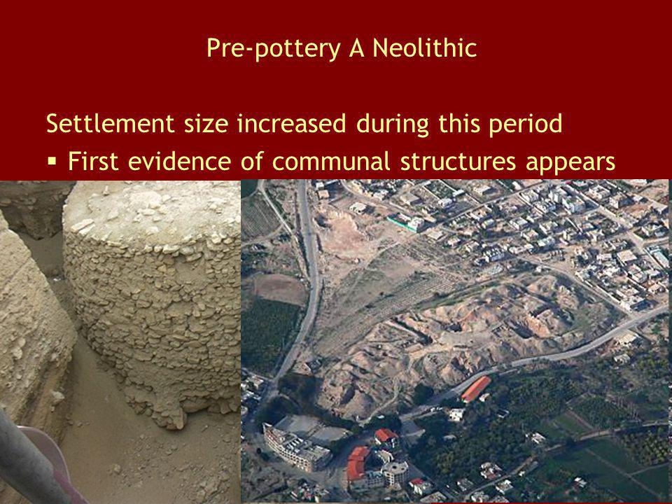 Pre-pottery A Neolithic