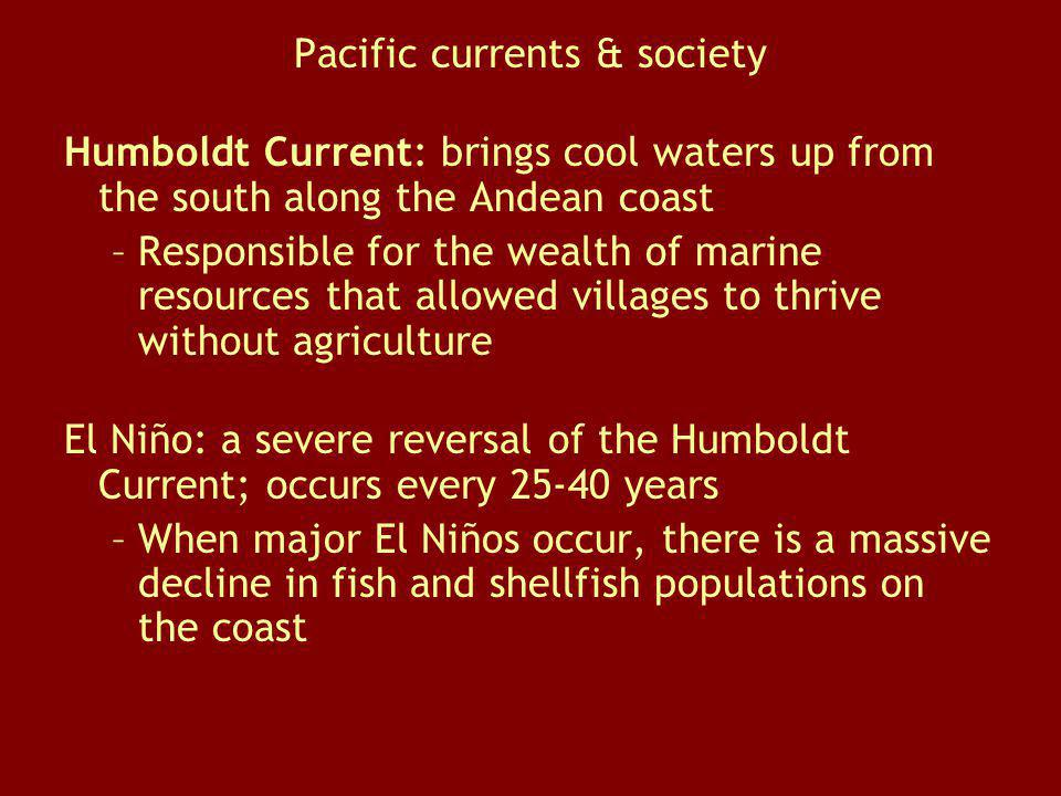 Pacific currents & society
