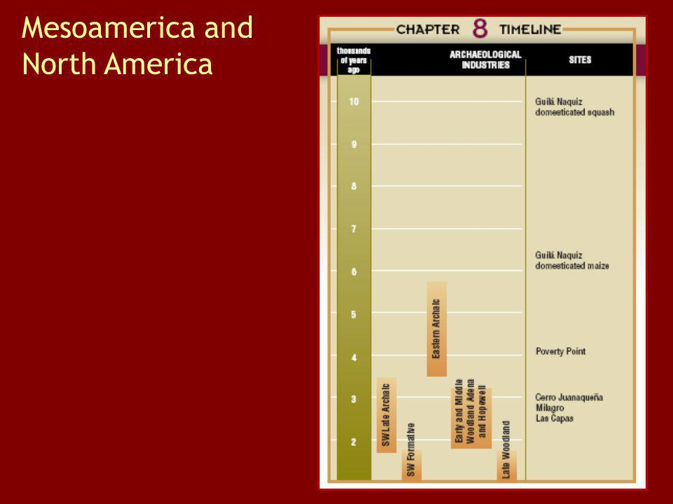 Mesoamerica and North America