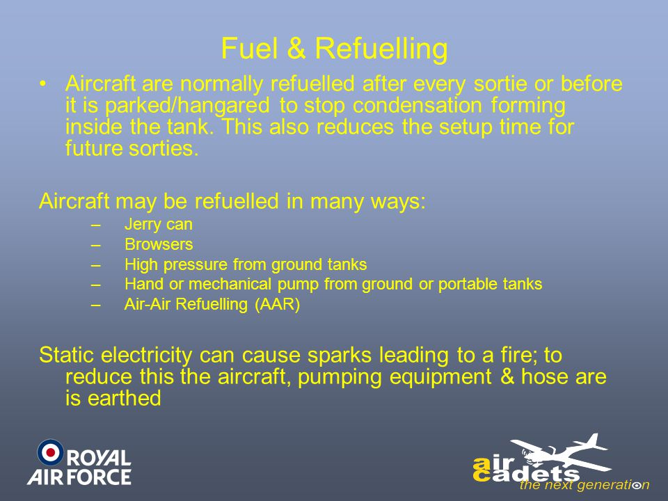 Fuel & Refuelling