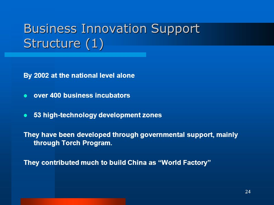 Business Innovation Support Structure (1)