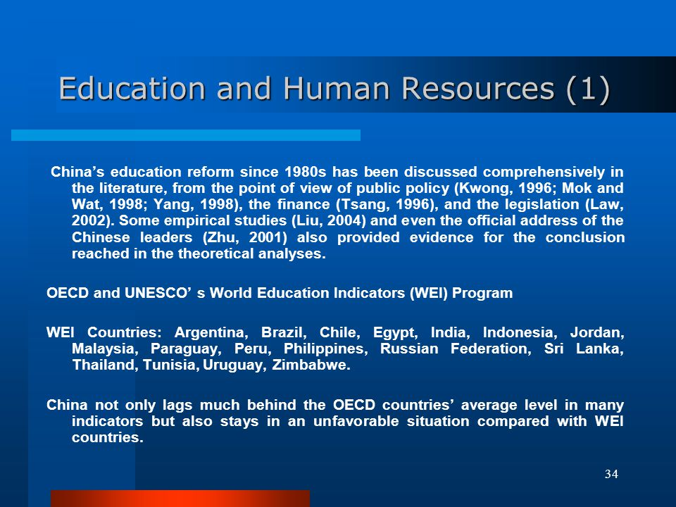Education and Human Resources (1)