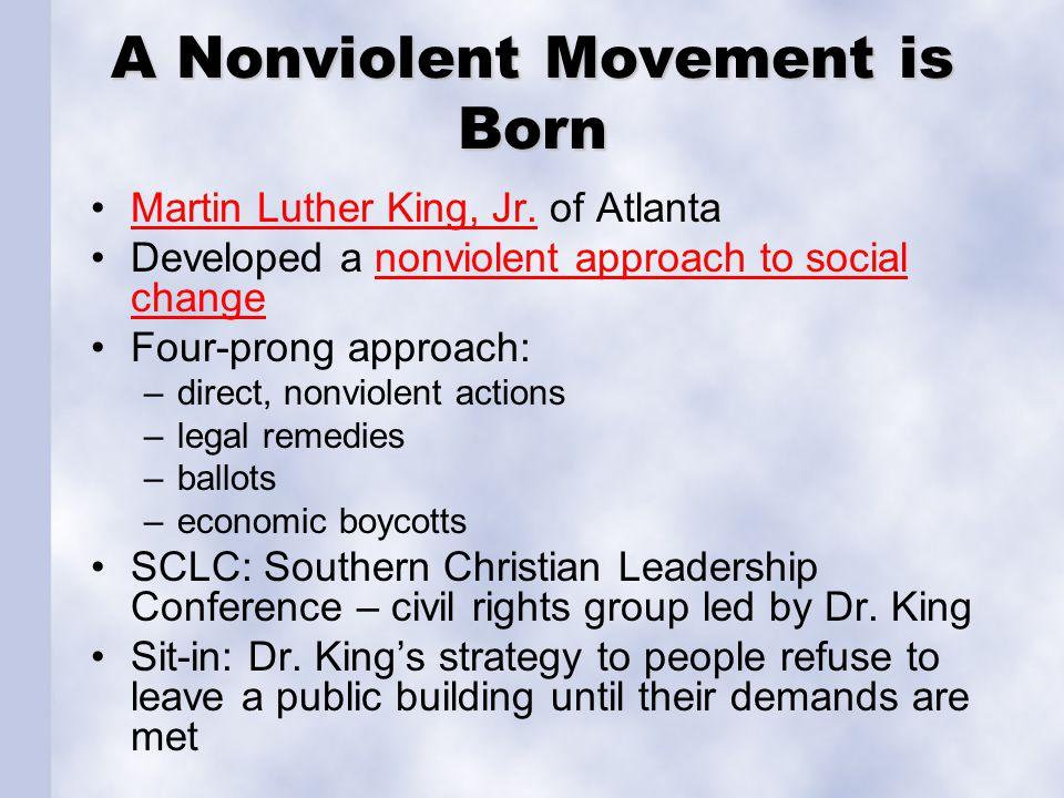 A Nonviolent Movement is Born