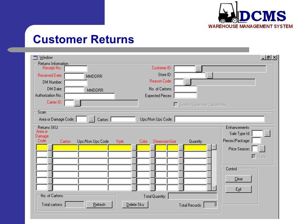 Customer Returns