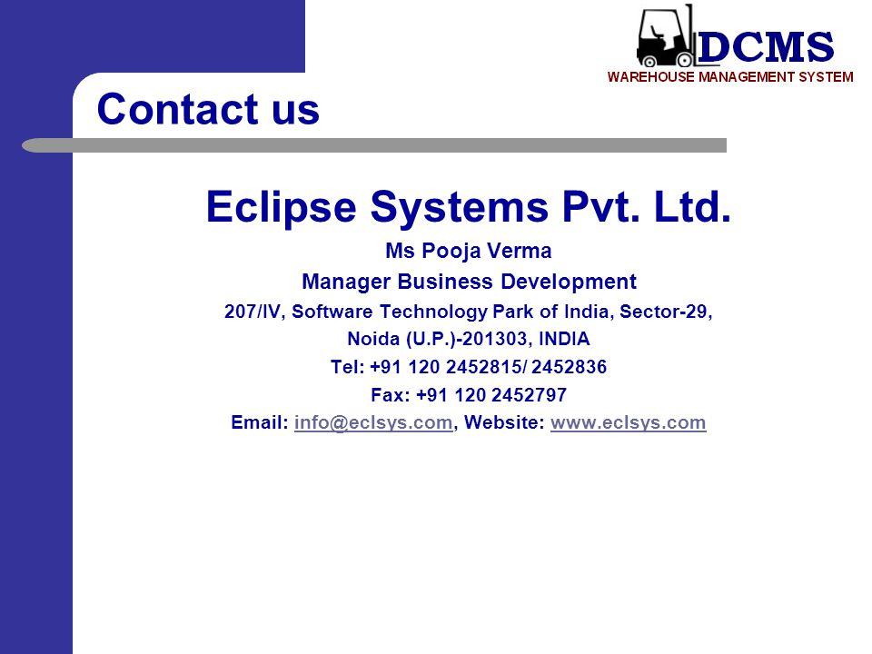 Eclipse Systems Pvt. Ltd.