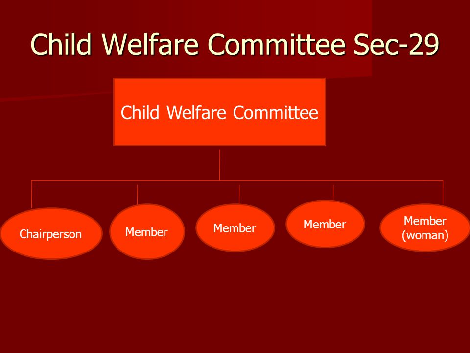 Child Welfare Committee Sec-29