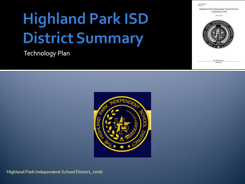 Highland Park ISD District Summary