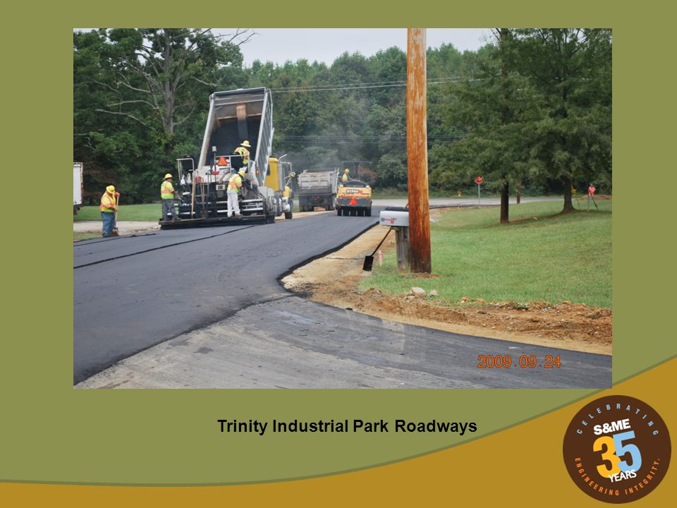 Trinity Industrial Park Roadways