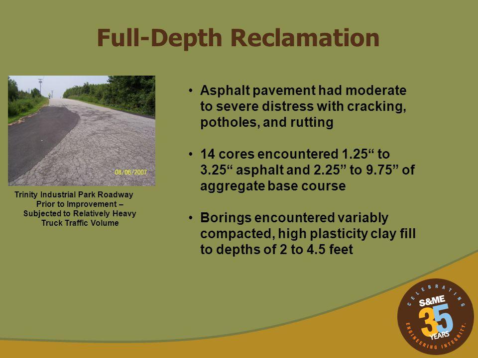 Full-Depth Reclamation
