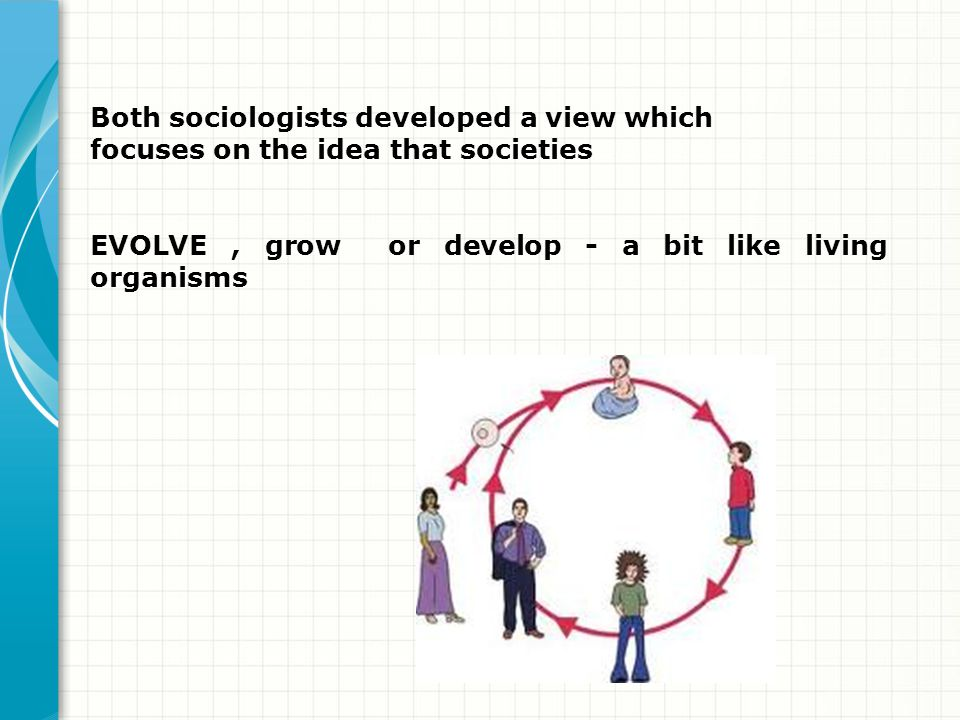 Both sociologists developed a view which