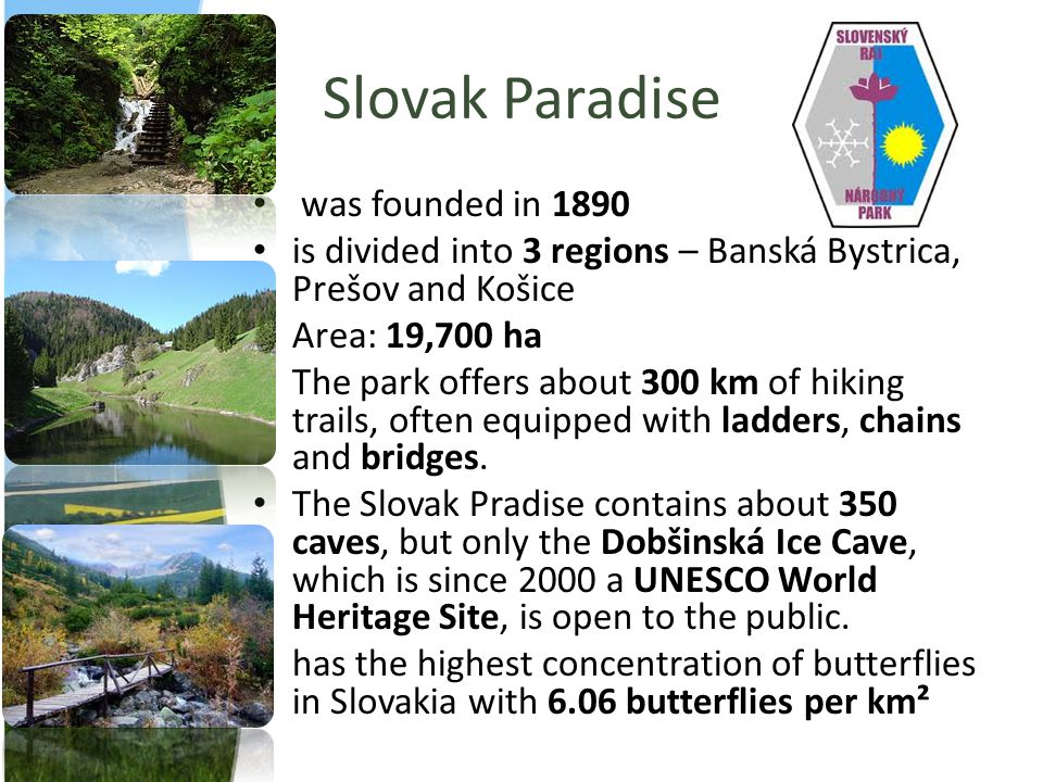 Slovak Paradise was founded in 1890