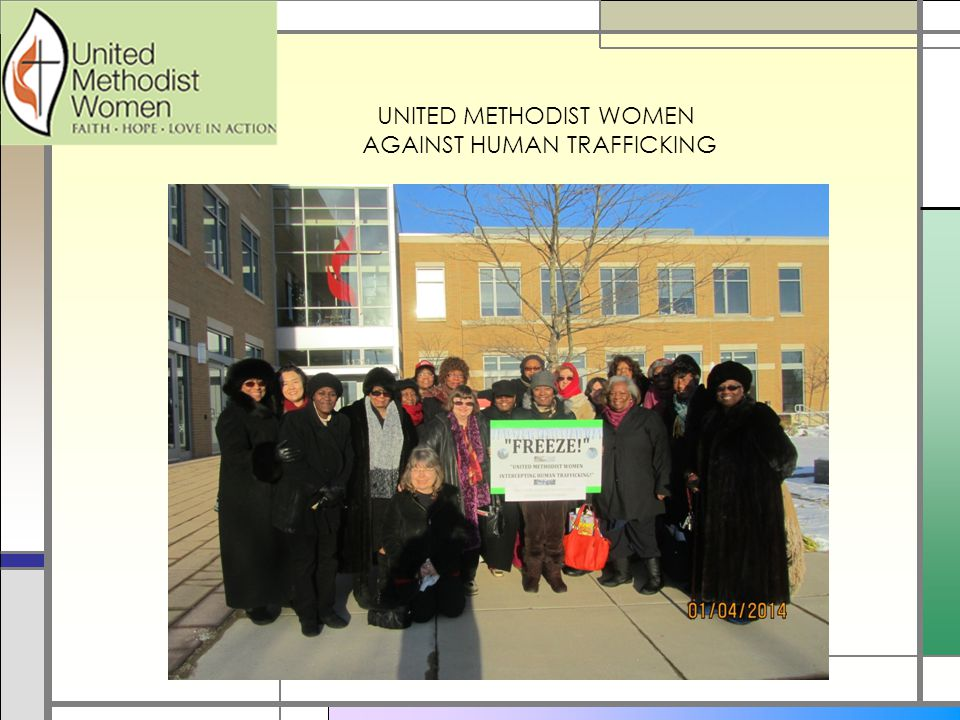 UNITED METHODIST WOMEN AGAINST HUMAN TRAFFICKING