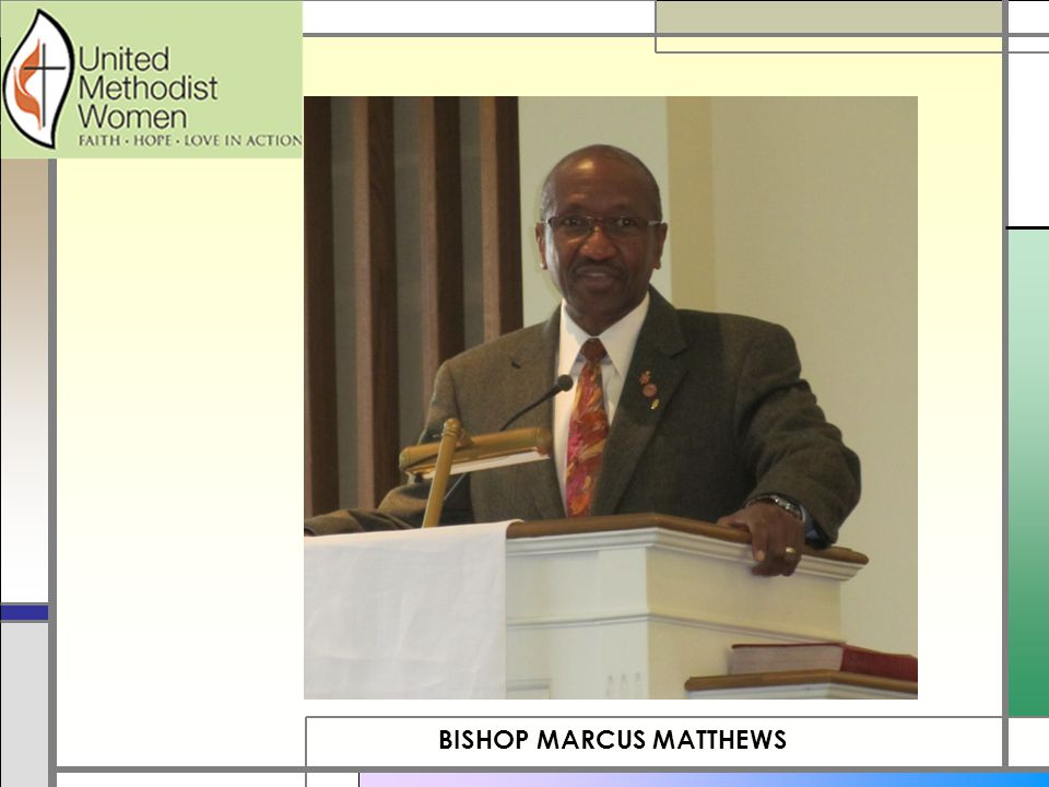 BISHOP MARCUS MATTHEWS