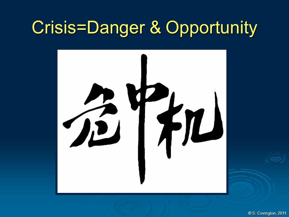 Crisis=Danger & Opportunity