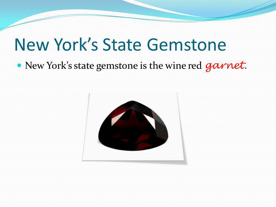 New York's State Gemstone