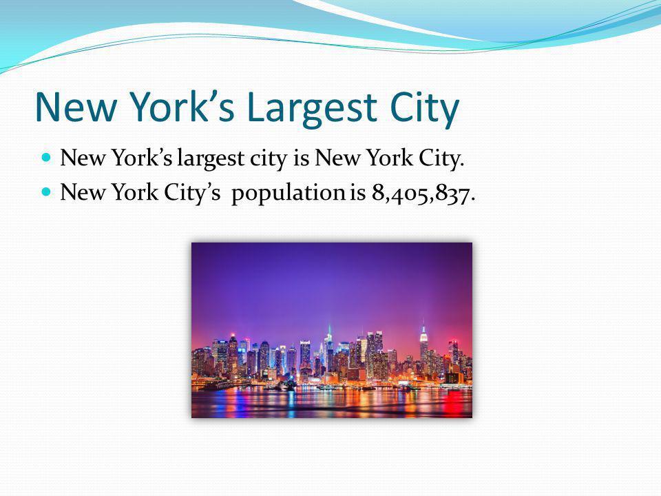 New York's Largest City