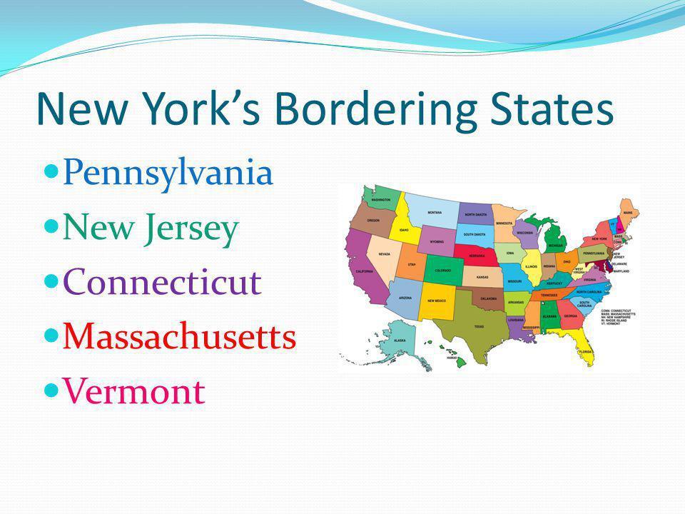 New York's Bordering States