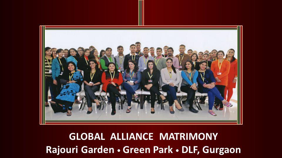 GLOBAL ALLIANCE MATRIMONY