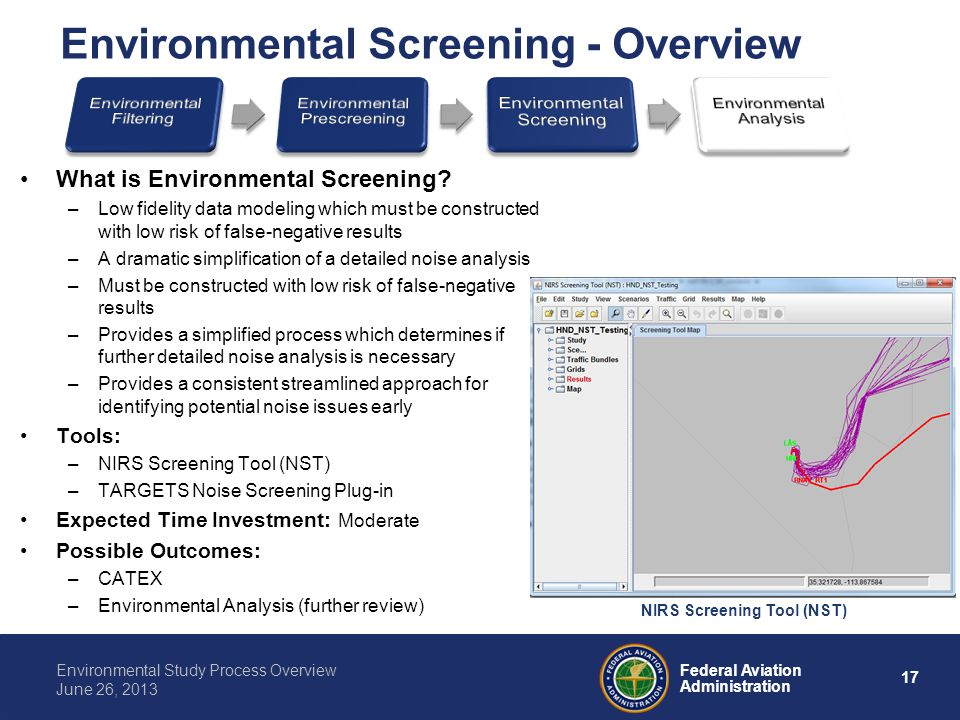 Environmental Screening - Overview