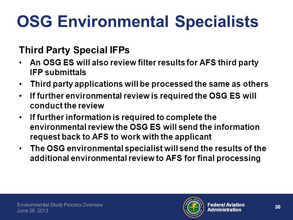 OSG Environmental Specialists