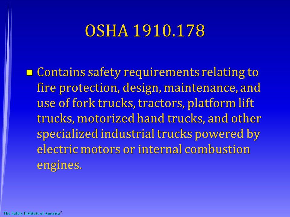 OSHA 1910.178