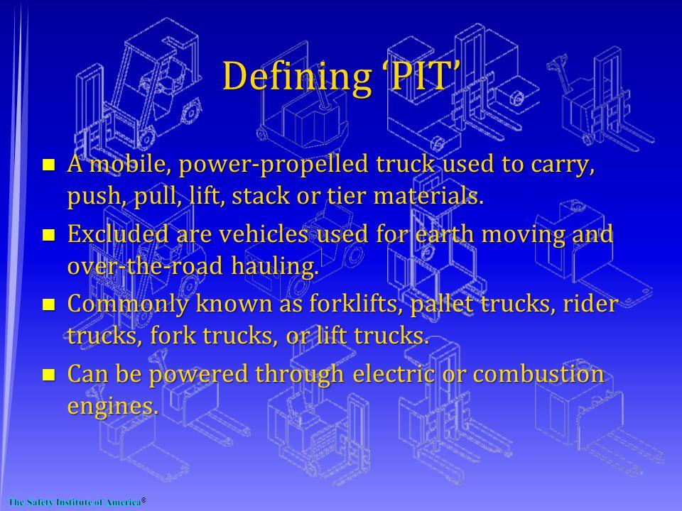 Defining 'PIT'